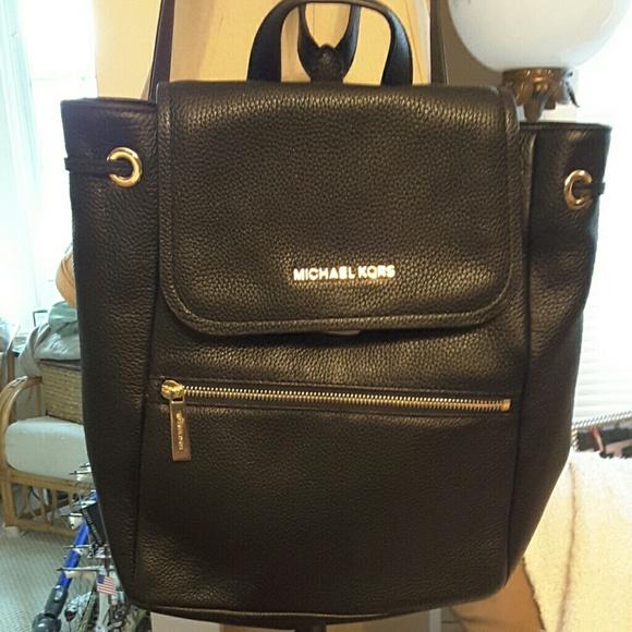 1ee5878db8ce Michael kors Bags | Rachel Lg Flap Backpack Leather | Poshmark